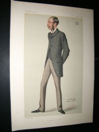 Vanity Fair Print 1880 Lord Ardilaun, Arthur Guinness. Irish